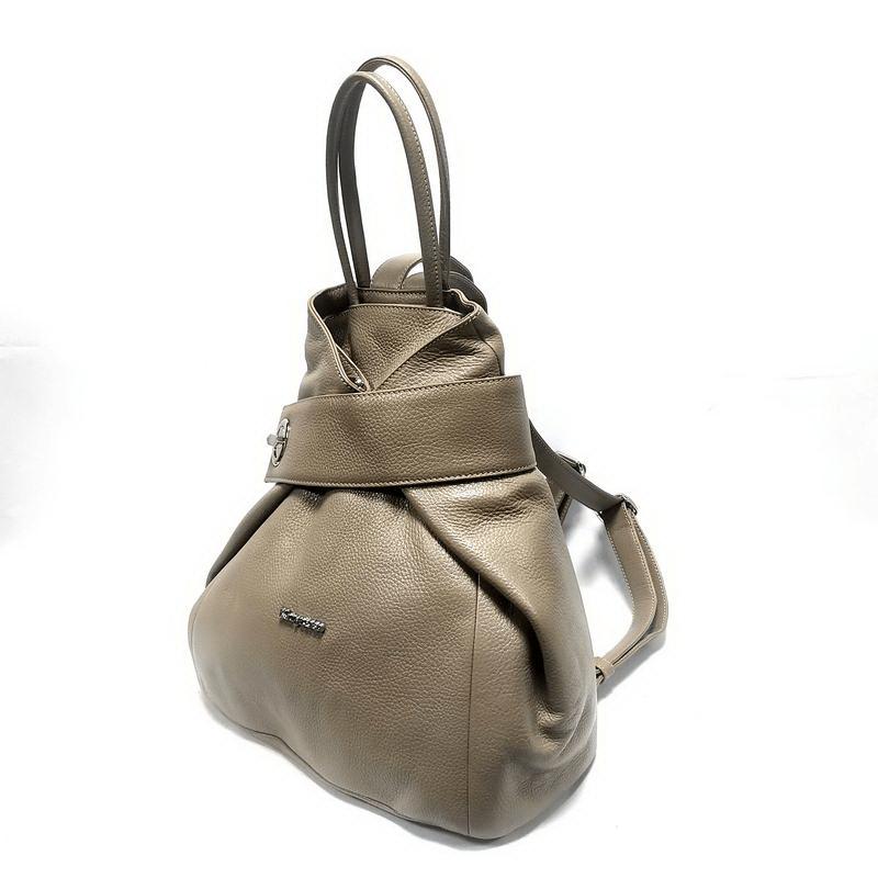Рюкзак KARYA (10126-3) бежевый