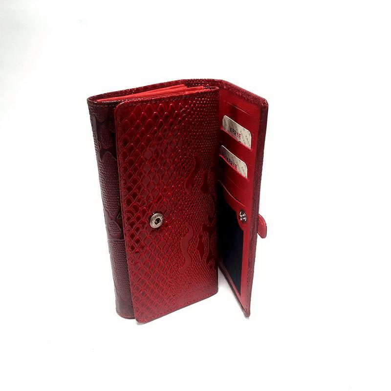 Кошелек женский KARYA (10129-4) красный
