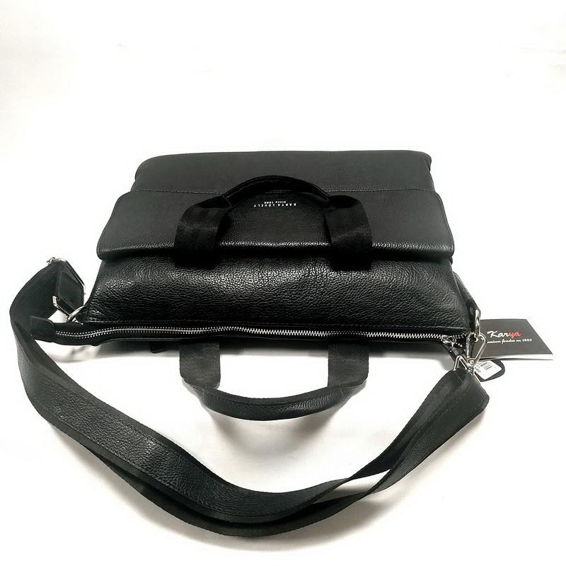 Сумка мужская KARYA (10142-1) черный