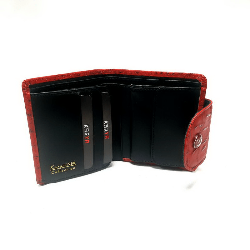 Кошелек женский KARYA (5960-5) красный
