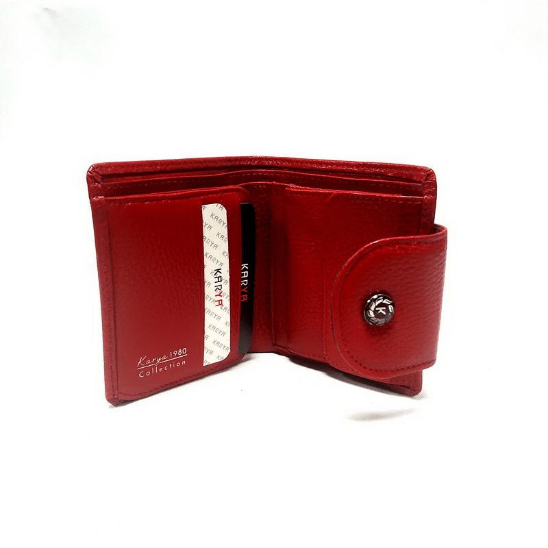 Кошелек женский KARYA (5960-6) красный