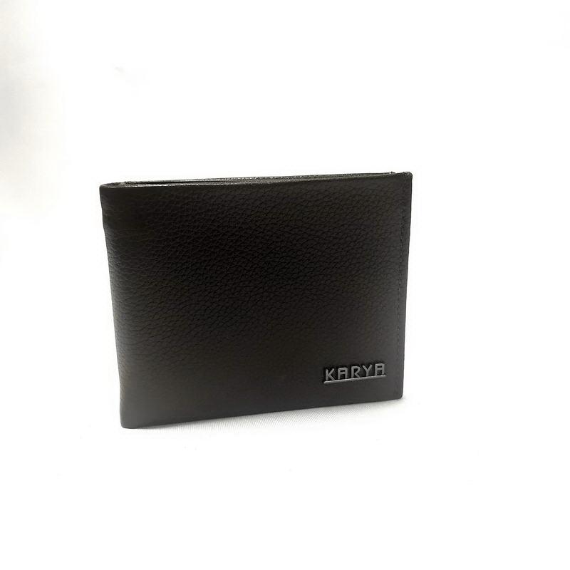 Портмоне мужское KARYA (7849-2) черный