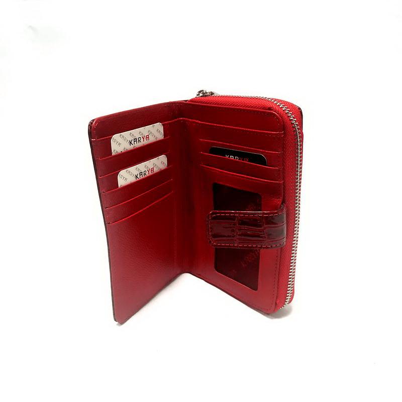 Кошелек женский KARYA (9015-1) красный