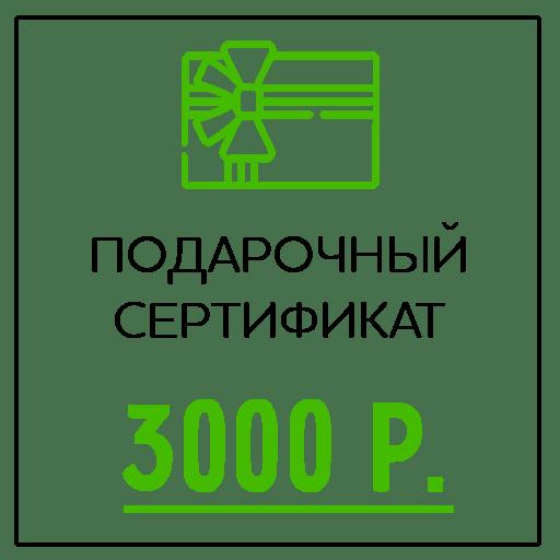 Подарочный сертификат (3000 Р)